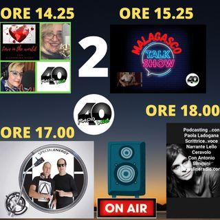 """Radio 40 """"Prime Time"""" Venerdì Pom. 19/02/2021"""