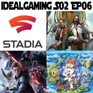 IdealGaming S02 EP06 - SW Jedy Fallen Order, Pokemon Spada e Scudo, Disco Elysium & Google Stadia