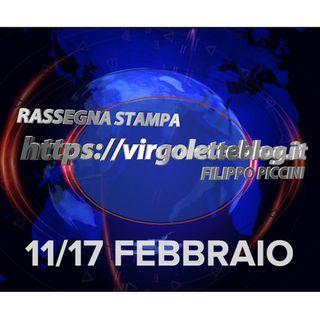 RASSEGNA STAMPA 11/17 febbraio | virgoletteblog.it
