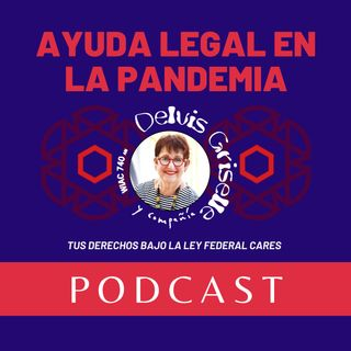 Ayuda legal en la pandemia y la ley CARES