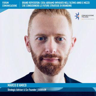 Forum Comunicazione 2021, 2°giornata | Digital Talk | Brand Reputation | oobrain