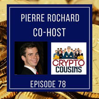 Todays  Co-host Is Pierre Rochard - BitcoinAdvisory.com
