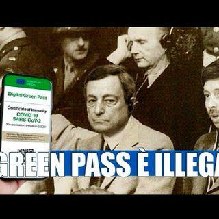 Il green pass è illegale - Dietro il Sipario - Talk Show