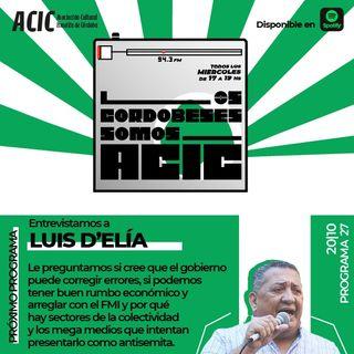 LCSA - Programa 28 - Entrevistado: Luis D'Elia