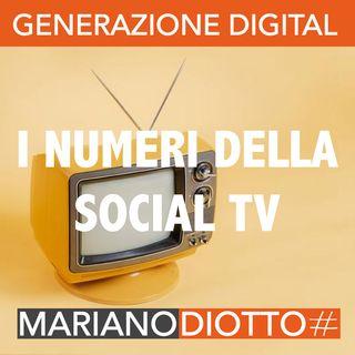 Puntata 50: I numeri della social TV