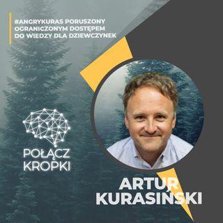 Artur Kurasiński w #PołączKropki-jak efektywnie zbierać pieniądze przez crowdfunding