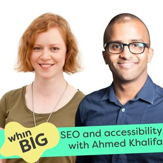39 - The barriers to making great content, marketing two businesses and SEO, with Ahmed Khalifa