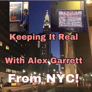 Extra Time With Alex Garrett - Alex Tries the Mouth Trumpeting Phenomenon
