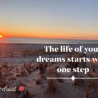 The first step of your new life! Ep. 179