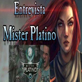 Legión Gamer España - Entrevista Mister Platino