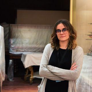 En las salas de un museo en obras con Alicia Suárez