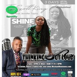 "Re-Air 8am ""It's Our Time To Shine"" feat. Poet & Christian Rapper Ty Scott King"