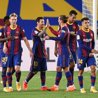 Como mire la victoria del barcelona contra la real sociedad por la liga
