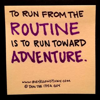 Routine Adventures : BYS 295
