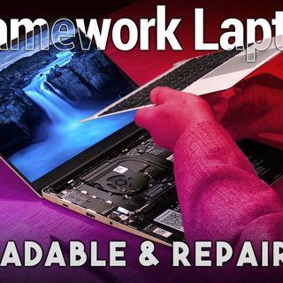 Famework Laptop - Upgradable, Customizable, & Repairable Notebook