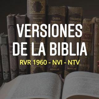 Versiones de Filipenses 1.21 (RVR 1960, NVI, NTV)