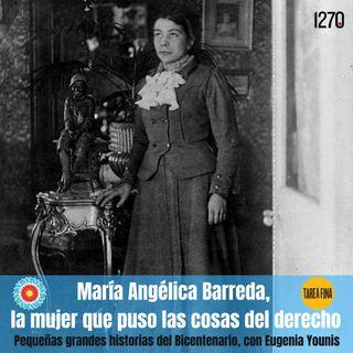 María Angélica Barreda, la mujer que puso las cosas del derecho