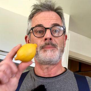 Le pouvoir d'un citron et de la gratitude si tu as du mal à voir le bon côté des choses