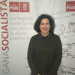 VIRGINIA MUÑIZ ORTEGA, CANDIDATA DEL PSOE DE CORTEGANA A LA ALCALDÍA