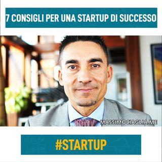 7 consigli per una startup di successo