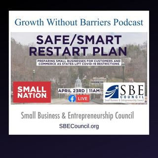 """PPP + SBE Council's Free """"Restarting Economy"""" Facebook Live Event, April 23, 11 am ET."""