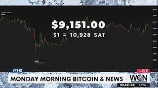 Morning Morning Bitcoin News and More - $9089 #THS