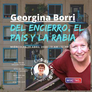 Georgina Borri, del encierro, el país y la rabia