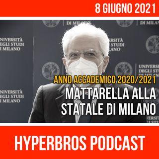 Il presidente Mattarella alla Statale di Milano