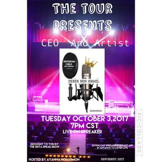 THE TOUR:SPECIAL GUEST DEREK BEN ISRAEL