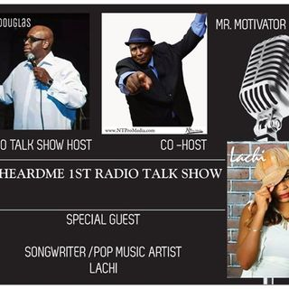 Uheardme1st RADIO TALK SHOW -SONGWRITER / POP MUSIC ARTIST  LACHI