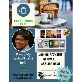 Conquerors Cafe Ask An Author Segment Featuring Yours Truly Author Twylia Reid