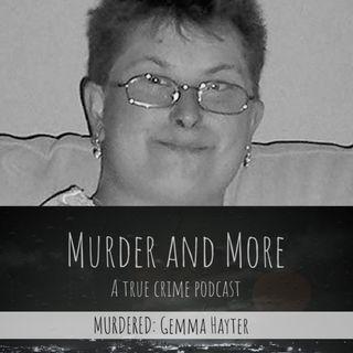 MURDERED: Gemma Hayter