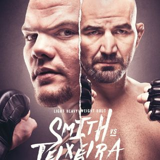 Preview Of The UFC Jacksonville Card Headlined By Anthony Smith - Glover Texeira In Live On Espn And BT Sport.