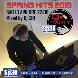 #djsparty - 𝐒𝐏𝐑𝐈𝐍𝐆 𝐇𝐈𝐓𝐒 𝟐𝟎𝟏𝟗 - Mixed By #DjCRI