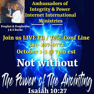Not without the Anointing Virtual Revival