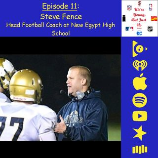 11. Steve Fence, Head Football Coach of New Egypt High School