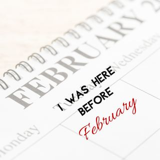 Spoken Word: I Was Here Before February