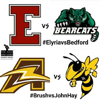 Week 3 Postgame Breakdown Of Brush Arcs Vs John Hay Hornets and Elyria Pioneers Vs Bedford Bearcats