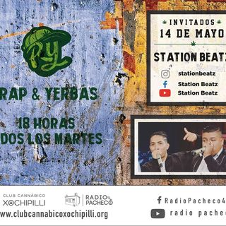 """Station Beatz"" RAP & YERBAS Prog 17 Radio Pacheco"