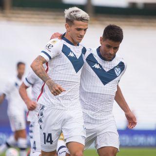 Gol de Vélez: Luca Orellano 0-1