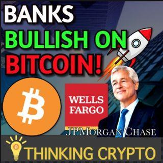 Wells Fargo & JP Morgan Bullish on BITCOIN & BitWise CRYPTO Index Fund Live in US!