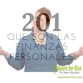 201. 🤷♂️ Qué son las finanzas personales