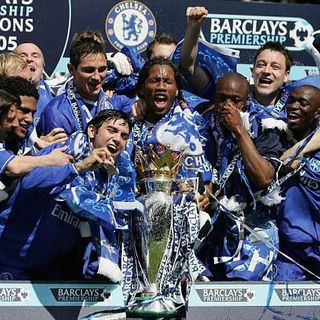 TRANSFER TIME TUNNEL: Chelsea 04/05 Premier League Champions