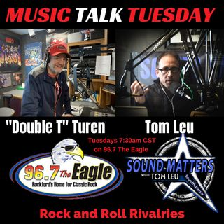 (Music Talk Tuesday): Rock and Roll Rivalries
