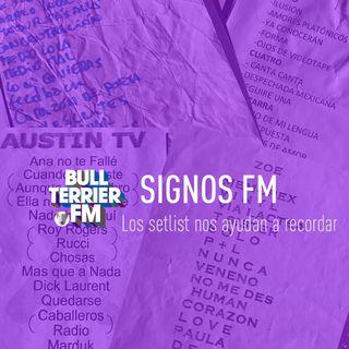 SignosFM #904 Los setlist nos ayudan a recordar...