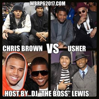 WBRP........CHRIS BROWN vs USHER (per Memorial Day mix)