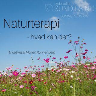 SOMMER EDITION: Naturterapi - hvad kan det?