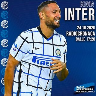 Post Partita - Genoa Inter 0-2 - 201024