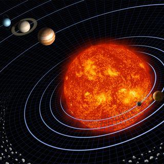 Il sistema solare in cinese