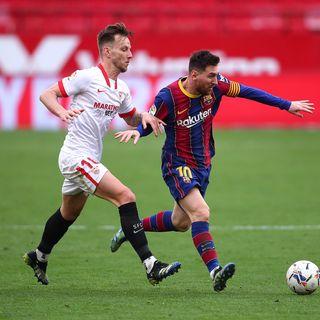 Como mire la victoria del barcelona contra el sevilla por la liga
